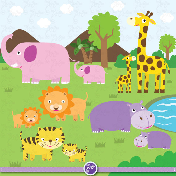 Mommy clipart baby animal Clipart Mama ClipartFox animal und