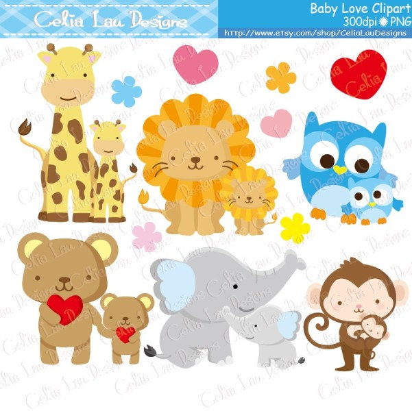 Mother And Baby clipart giraffe Collection clipart moms Baby Baby