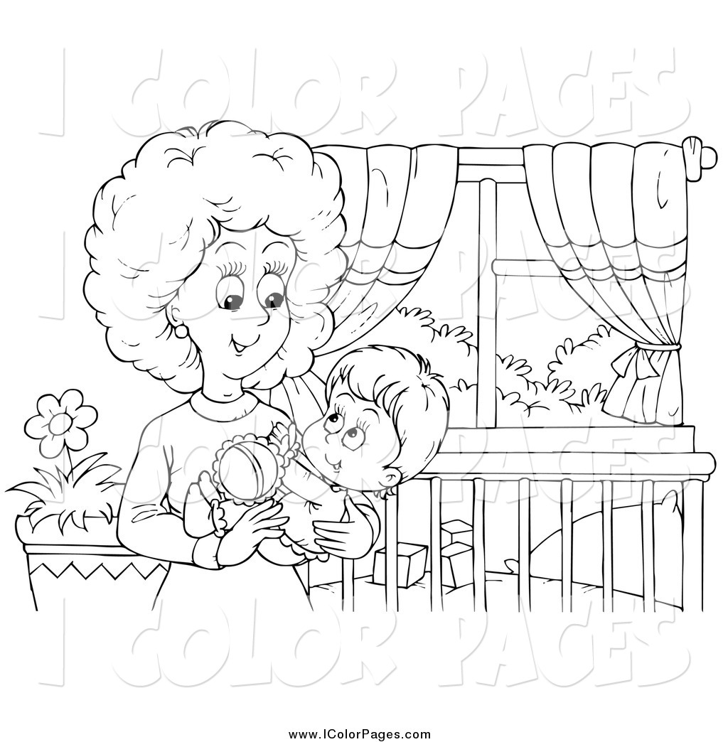 Mother And Baby clipart happy mom #4
