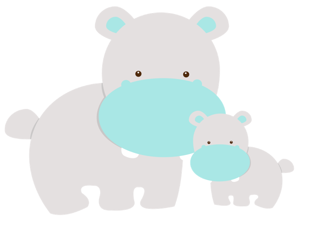 Mommy clipart baby animal Minus Baby Blue  Carmen
