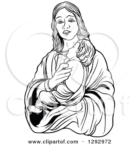 Mother And Baby clipart mary jesus Baby collections Holding clipart baby