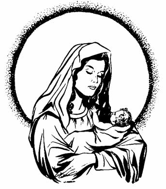 Mother And Baby clipart mary jesus Of Art Clipart Jesus of