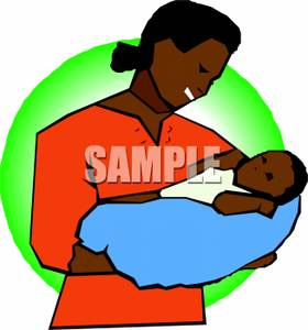 Panda clipart mother and baby #2