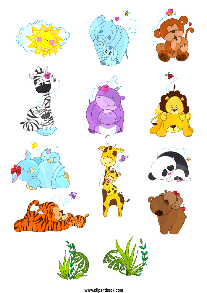 Animl clipart mother and baby And baby Mother Mother clipart