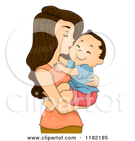Mother And Baby clipart mommy and me Of Clipart Mom Boy Clipart