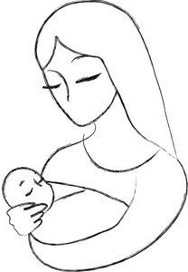 Mother And Baby clipart mommy and me In infanthood And be Mom