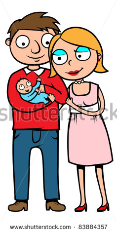 Mother And Baby clipart mommy and me And Mom cartoon and dad