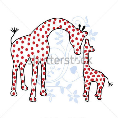 Mother And Baby clipart mommy and me Baby Mother Mother baby giraffe