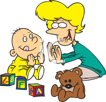Mother And Baby clipart nanny #3
