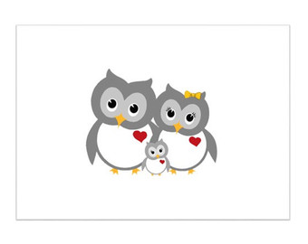 Owl clipart mom Mom owl dad baby Mom