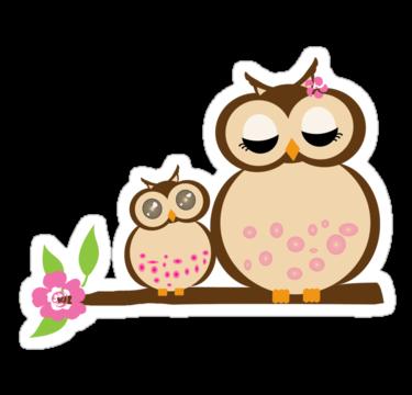 Owl clipart mom Owl Clipart on Art Cartoon