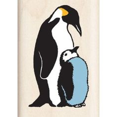 Mother And Baby clipart penguin Emperor Emperor Stamp Inkadinkado Penguin