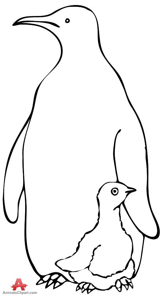 Mother And Baby clipart penguin Clipart Mother Baby Penguin Penguin