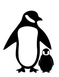 Mother And Baby clipart penguin Pinterest on Mother tattoo baby
