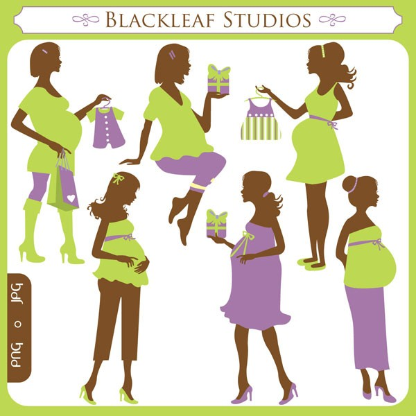 Mommy clipart pregnant mom Pregnancy a its baby bump