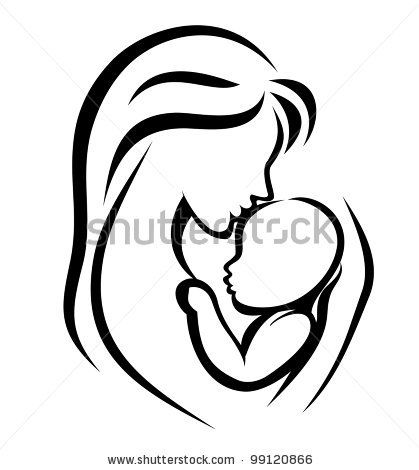 Womb clipart mother and baby Find this best child mother