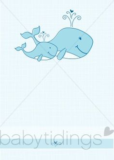 Mother And Baby clipart whale Baby whale baby baby in