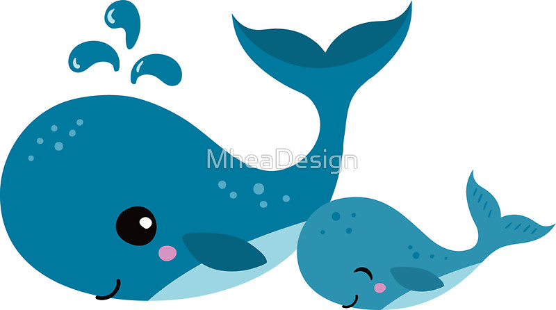 Mother And Baby clipart whale Redbubble mommy baby Cute baby
