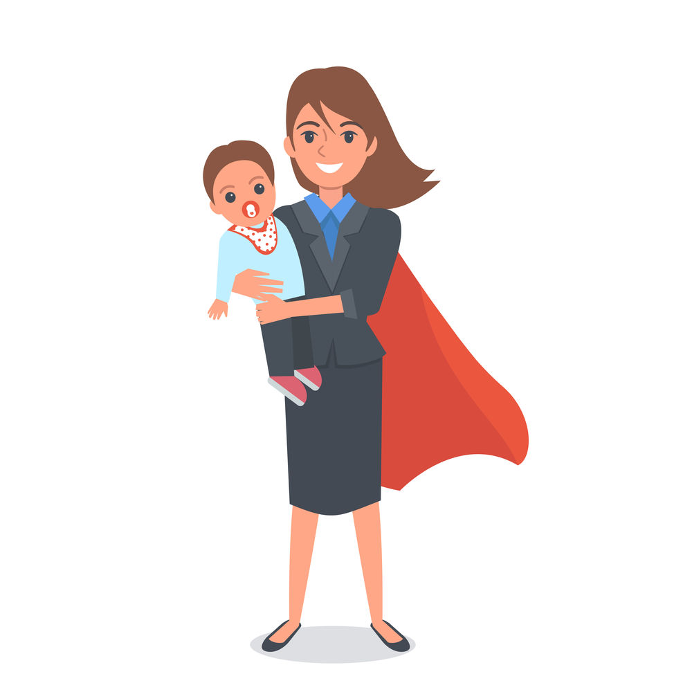 Mother And Baby clipart working mother Of breadwinning 10 Working Mom