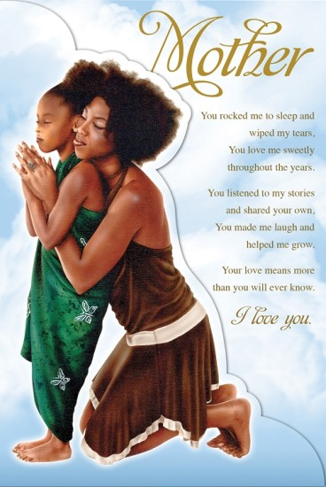 Mother's Day clipart african american #2