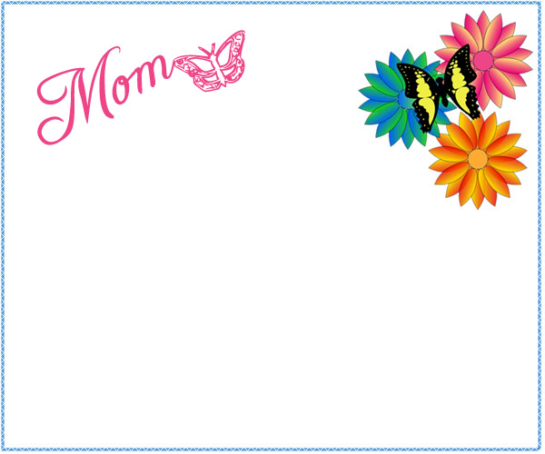 Mother's Day clipart border Mother Clipart Mother ~ Clipart