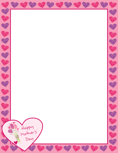 Mother's Day clipart border And Free  downloads page