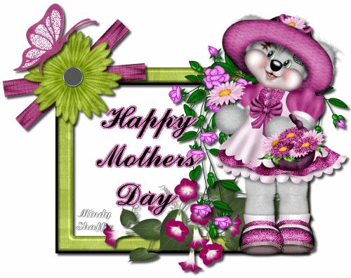 Teddy clipart mothers day Code mothers 193 Day♦ animated