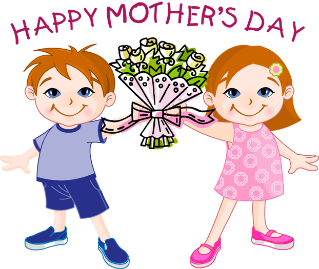 Mother's Day clipart celebration  Happy to 2015 Mothers