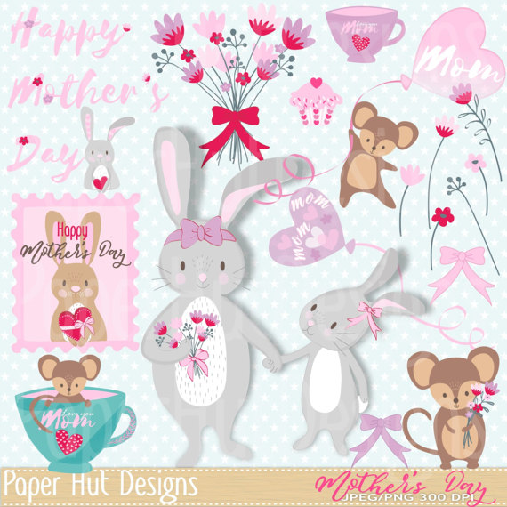 Mother's Day clipart cupcake Mouse from Cupcake Day for