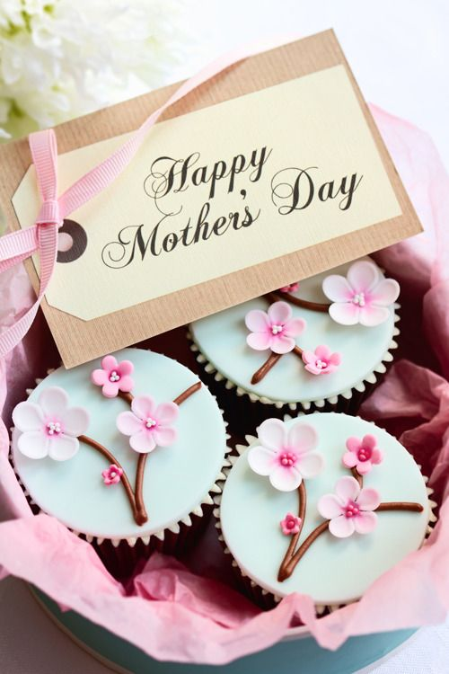 Mother's Day clipart cupcake Blossoms Cupcakes Mother's Cherry Day