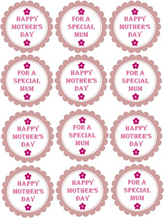 Mother's Day clipart cupcake Soft Special Pastel Pink Soft
