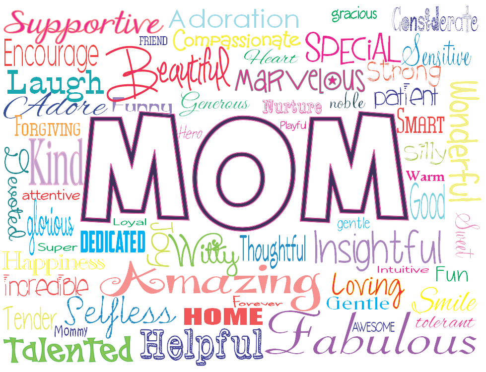 Mother's Day clipart gentle Wallpaper Pictures and Wishes Mothers