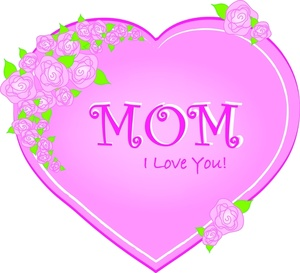 Pink Flower clipart mother's day Clipart Mothers Mothers a Image