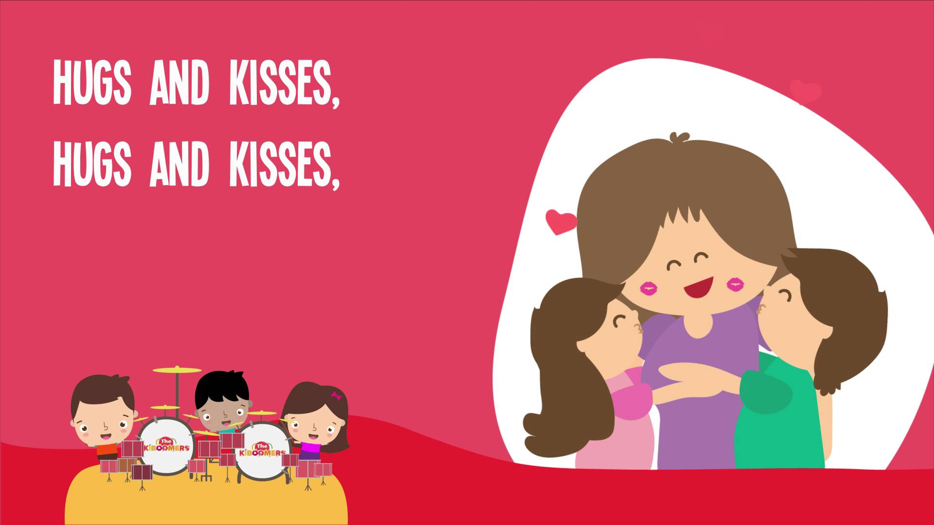 Mother's Day clipart hug And Hugs Kisses Mommy for
