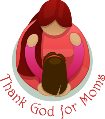 Mother's Day clipart hug God Image: to Girl reach