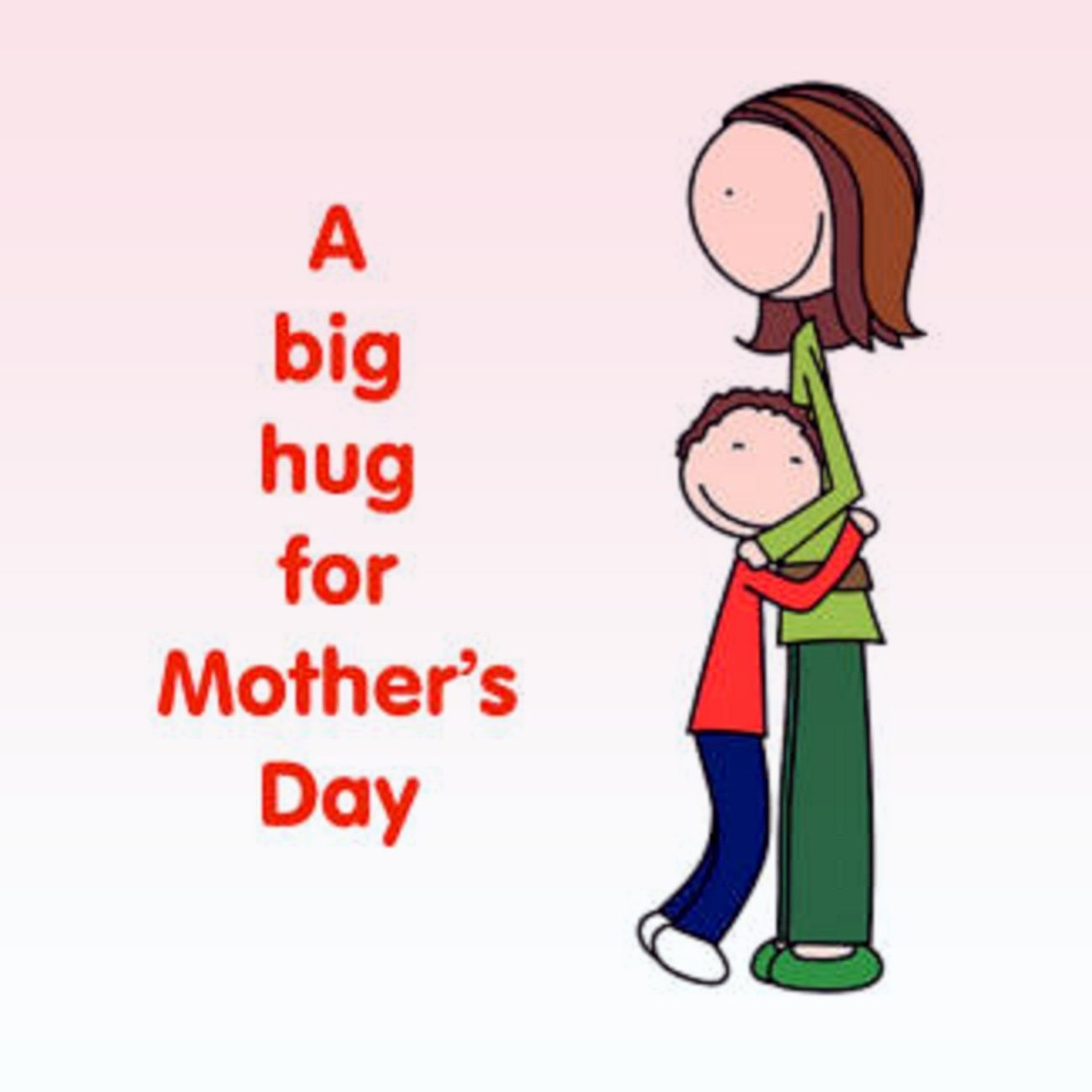 Mother's Day clipart hug Big Mother's Hug Day A