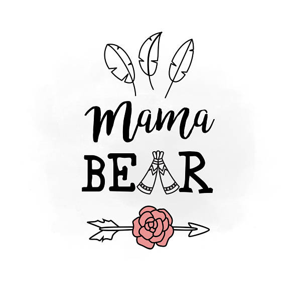 Mother's Day clipart mama bear Clipart svg & Day Mothers