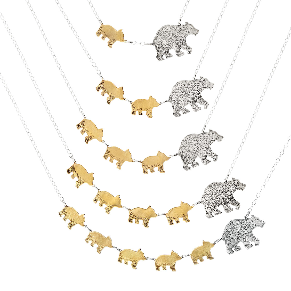 Mother's Day clipart mama bear Necklaces UncommonGoods Jewelry thumbnail Necklaces