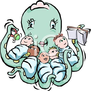 Mommy clipart babysitting Mothers 5 Day 119 Clipart