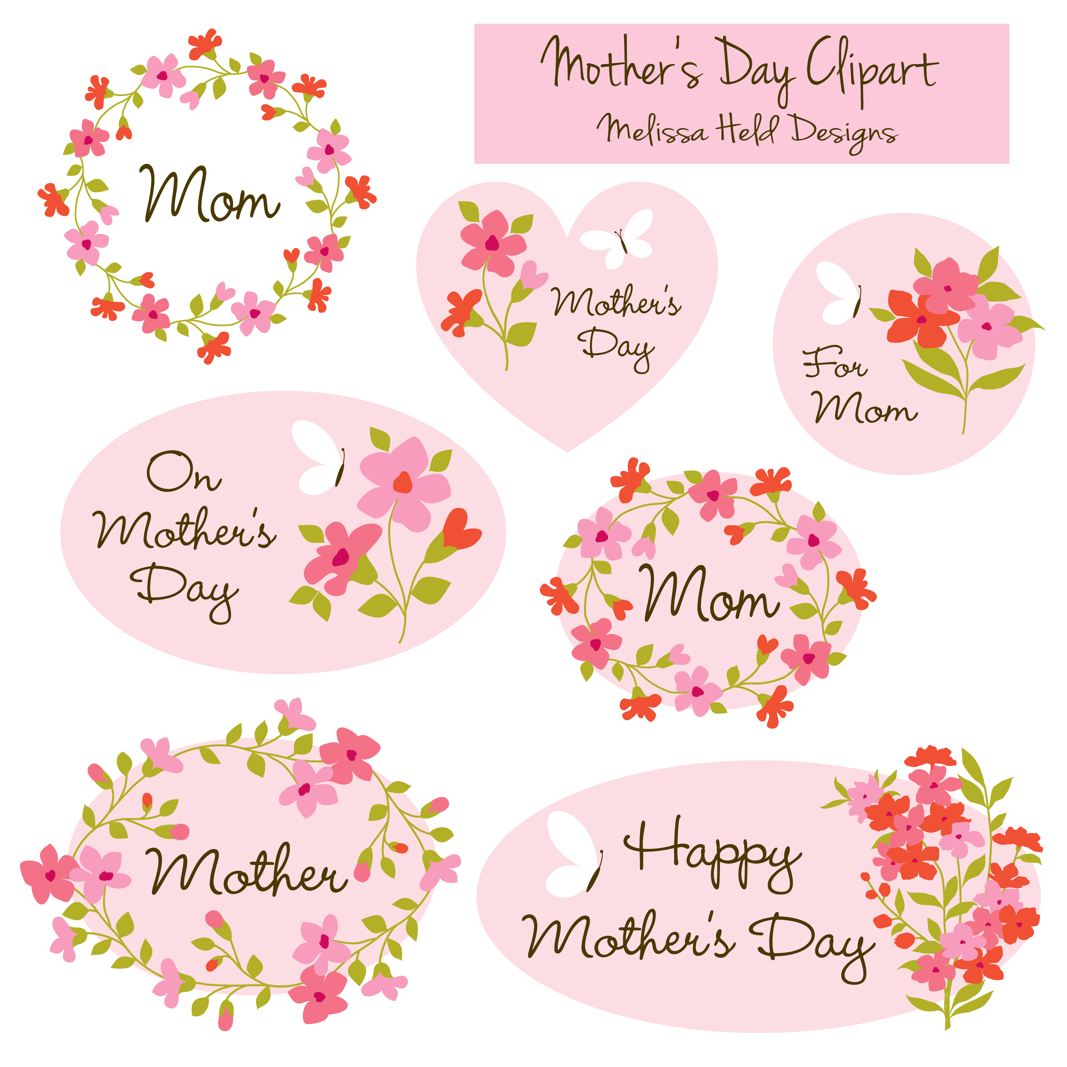 Mother's Day clipart motherhood Clipart Mygrafico preview Day Clipart
