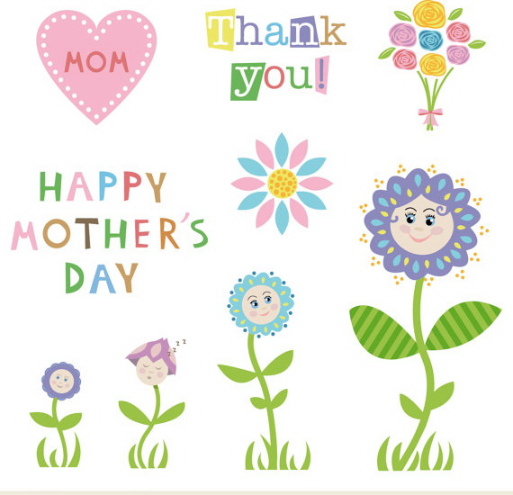 Blossom clipart mother's day Clipart clipart and Clip art