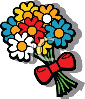 Bouquet clipart mothers day flower Flower Bouquets  Day Clipart