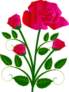Rose clipart mothersday #6