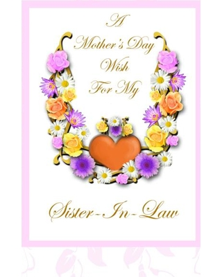 Mother's Day clipart sister Law Floral Heart Amazing With