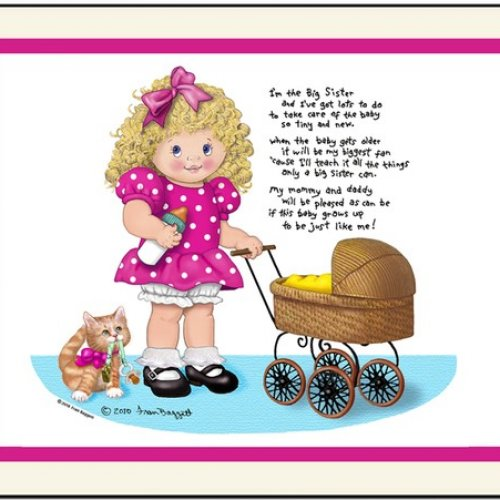 Mother's Day clipart sister Big print Me Wait Day