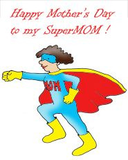 Mother's Day clipart super mom Images Clipart Clipart Free Mom