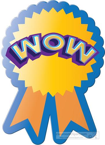 Trophy clipart perfect attendance Sticker award sticker Motivational wow