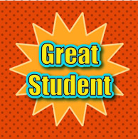 Motivational clipart excellent student #2