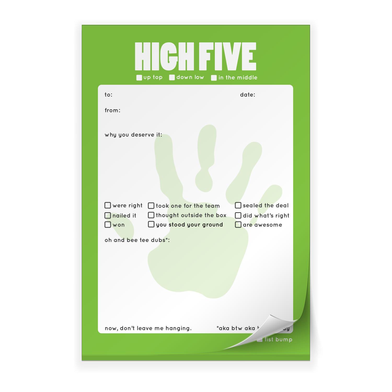 Motivational clipart high five #6