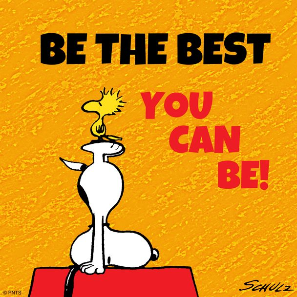 Motivational clipart possibility And/or this snoopy snoopy Stoodwock